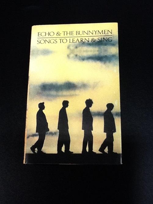 Echo & The Bunnymen Songs To Learn & Sing UK EU Cassette
