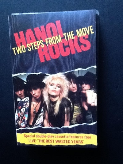 Hanoi Rocks Two Steps From The Move Cassette