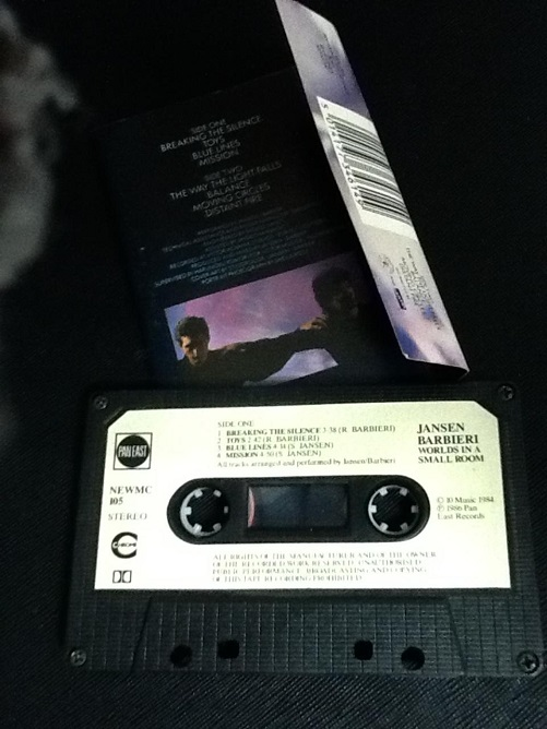 Jansen | Barbieri Worlds In A Small Room UK Cassette