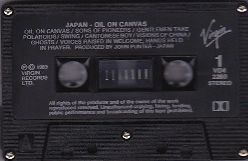 Japan Oil On Canvas Canada Cassette
