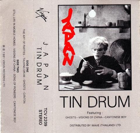 Japan Tin Drum Thailand 1981 Cassette