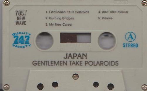 Japan Gentlemen Take Polaroids Saudi Arabia Cassette