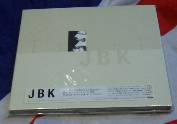 JBK Playing In A Room With People Promo Japan CD