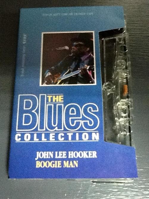 John Lee Hooker Boogie Man UK Cassette
