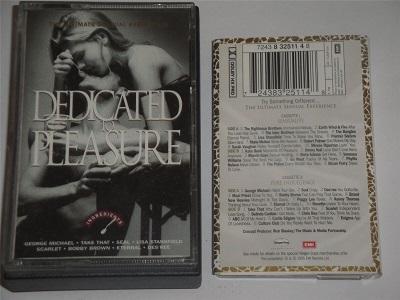 Dedicated To Pleasure - 2 x Cassette Tape Set George Michael Take That Kate Bush