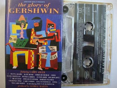 Gershwin - The Glory Of Cassette Tape Kate Bush Elvis Costello Elton John Cassette Tape
