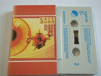 Kate Bush - The Kick Inside Cassette Tape TCEMC3223