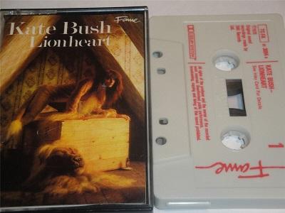 Kate Bush - Lionheart Cassette Tape