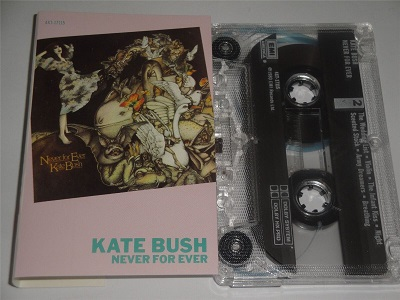 Kate Bush - Never For Ever Cassette Tape 4XT17115 1981 Made In England