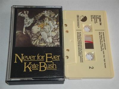 Kate Bush - Never For Ever Cassette Tape EMI TCEMA794
