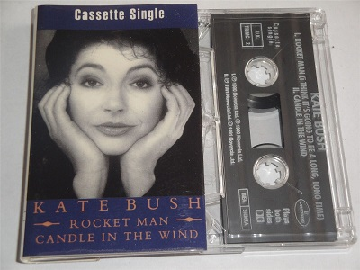 Kate Bush -  Rocket Man & Candle In The Wind Cassette Tape Single TRIMC2