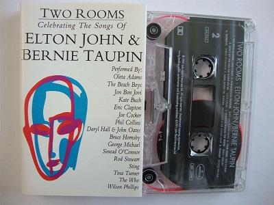 Two Rooms - A Tribute to Elton John & Bernie Taupin Cassette Tape Kate Bush