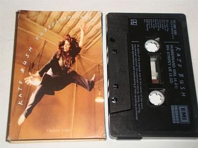 Kate Bush - Rubberband Girl Cassette Tape Single