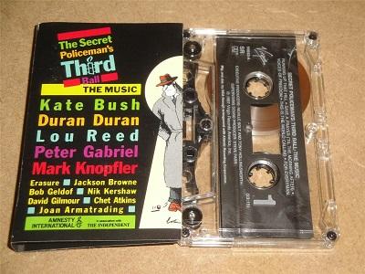 Various - The Secret Policeman's Third Ball Cassette Tape Kate Bush Lou Reed Erasure