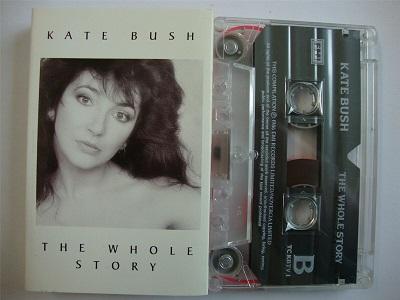 Kate Bush - The Whole Story - Cassette Tape
