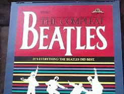 The Beatles The Compleat Beatles CED Video Disc 1982