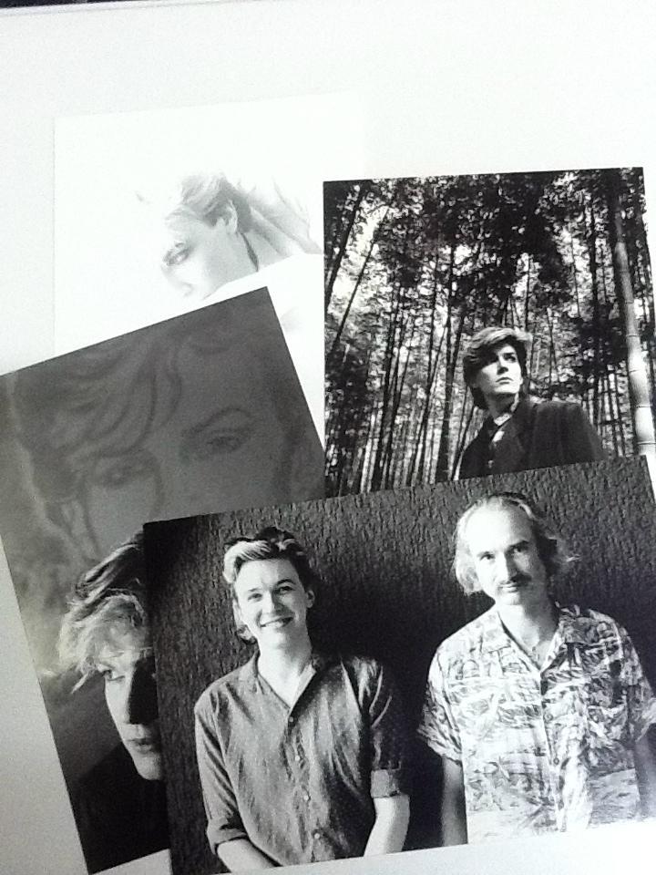 David Sylvian Set of 4 Postcards