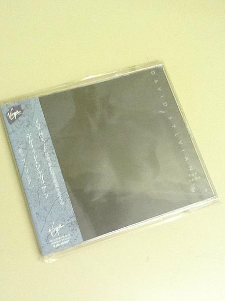 David Sylvian Pop Song Japanese 3-track CD