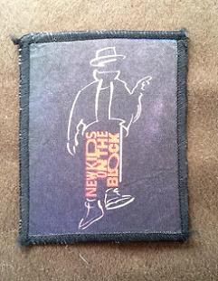 new kids on the block 1980s vintage printed patch