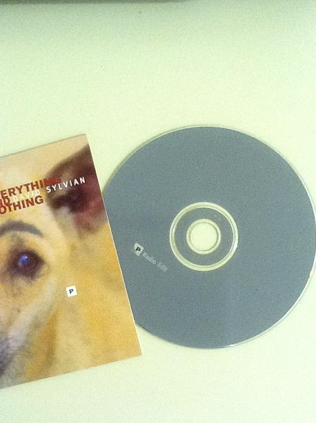 David Sylvian Everything And Nothing UK 4-trk Promo CD