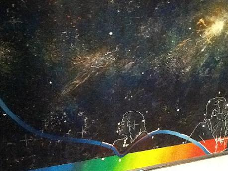 Russell Mills Maggie Gee Light Years Original Painting