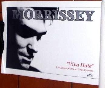 Morrissey Viva Hate poster