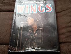 Paul McCartney and Wings by Jeremy Pascall Hardcover Book. 1977.