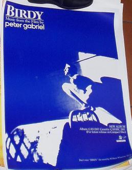 Peter Gabriel Birdy poster