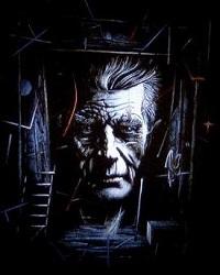 Russell Mills Samuel Beckett Reader Original Painting